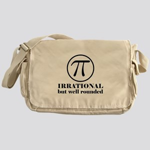 Pi: Irrational But Well Rounded Messenger Bag