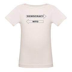 Democracy vs WTO Tee