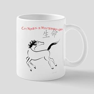 Chi Moves Mysterious Horse Mug