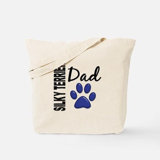 Silky Terrier Dad 2 Tote Bag