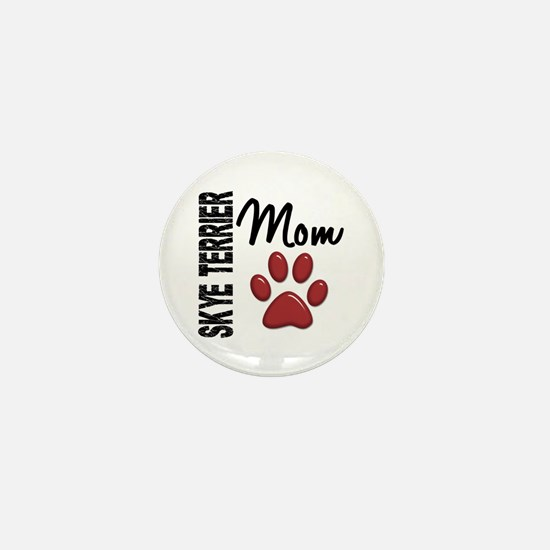 Skye Terrier Mom 2 Mini Button
