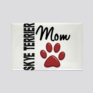 Skye Terrier Mom 2 Rectangle Magnet
