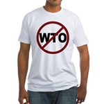 NO WTO Fitted T-Shirt