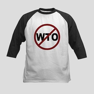 NO WTO Kids Baseball Jersey