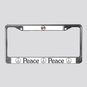 NO WTO License Plate Frame