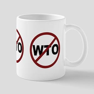 NO WTO Mug