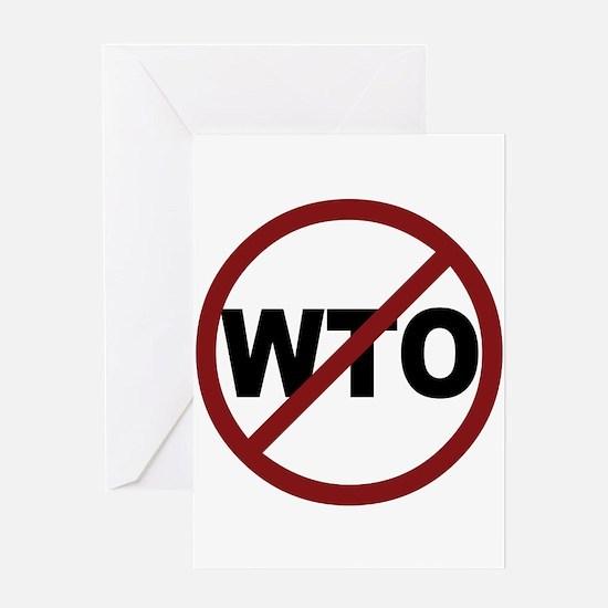 NO WTO Greeting Card