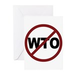 NO WTO Greeting Cards (Pk of 20)