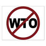 NO WTO Small Poster