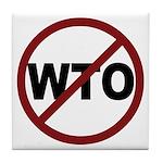 NO WTO Tile Coaster
