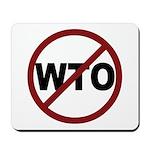 NO WTO Mousepad
