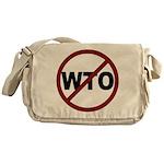 NO WTO Messenger Bag