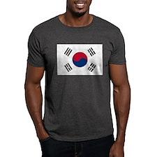 Flag of South Korea Dark T-Shirt