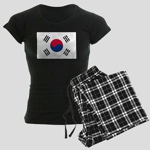 Flag of South Korea Women's Dark Pajamas