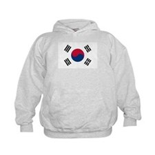 Flag of South Korea Kids Hoodie