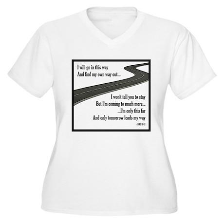 #41 Women's Plus Size V-Neck T-Shirt