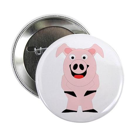 "Pig Design 2.25"" Button"