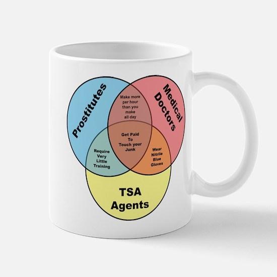 TSA Prostitutes Doctors Mugs
