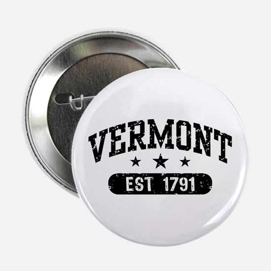 """Vermont Est. 1791 2.25"""" Button"""
