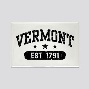 Vermont Est. 1791 Rectangle Magnet