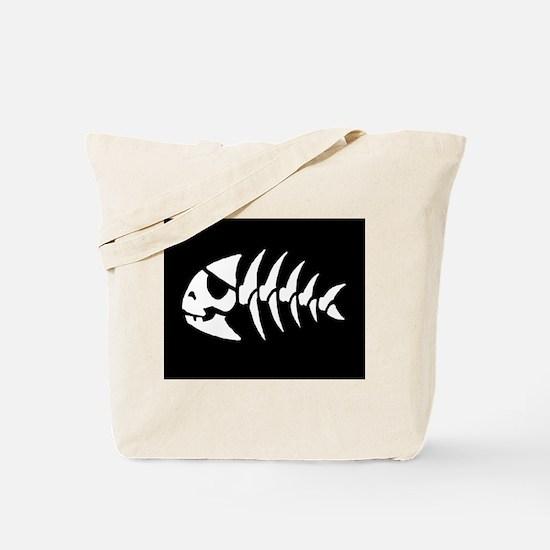 Pirate Fish Tote Bag