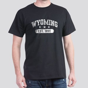 Wyoming Est. 1890 Dark T-Shirt