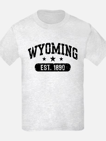 Wyoming Est. 1890 T-Shirt