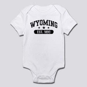 Wyoming Est. 1890 Infant Bodysuit