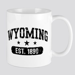 Wyoming Est. 1890 Mug