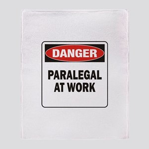 Paralegal Throw Blanket