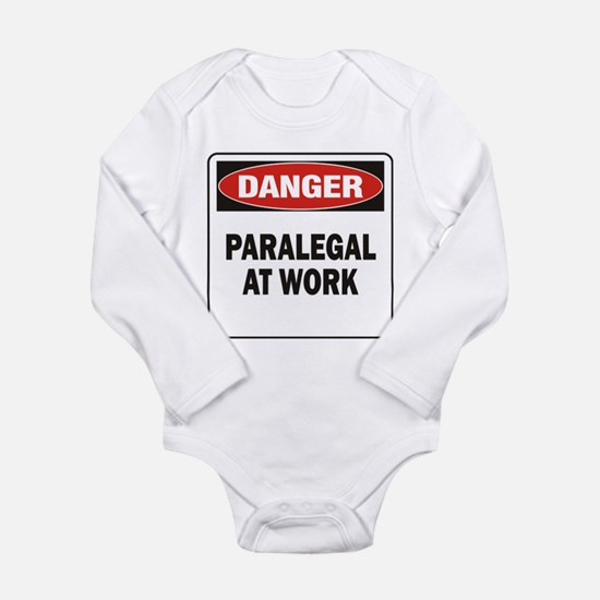 Paralegal Long Sleeve Infant Bodysuit