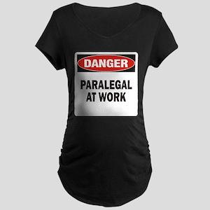 Paralegal Maternity Dark T-Shirt