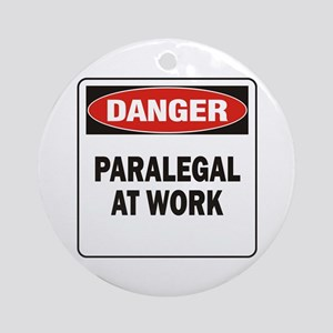 Paralegal Ornament (Round)