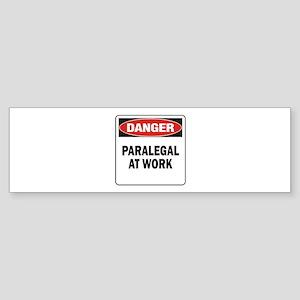 Paralegal Sticker (Bumper)