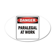 Paralegal 22x14 Oval Wall Peel