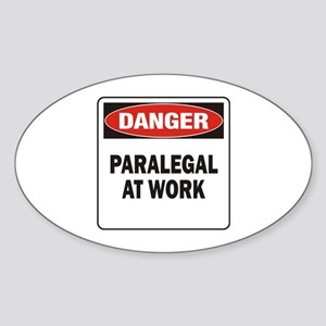 Paralegal Sticker (Oval)