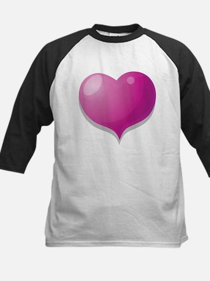 3D HEART Kids Baseball Jersey