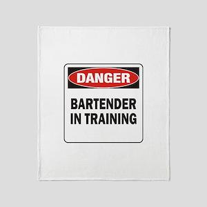Bartender Throw Blanket