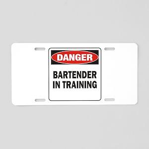 Bartender Aluminum License Plate