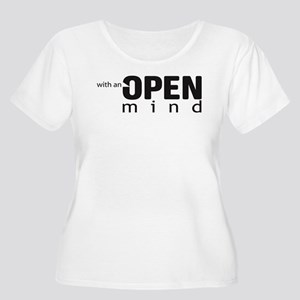 Openminded Women's Plus Size Scoop Neck T-Shirt