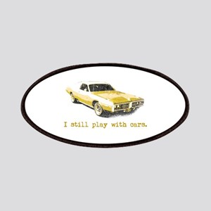 I still play with cars Patches