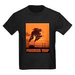 Industrial Progress Trap Kids Dark T-Shirt
