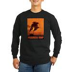 Industrial Progress Trap Long Sleeve Dark T-Shirt