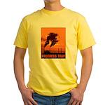 Industrial Progress Trap Yellow T-Shirt