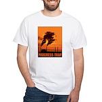 Industrial Progress Trap White T-Shirt