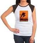 Industrial Progress Trap Women's Cap Sleeve T-Shir