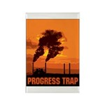 Industrial Progress Trap Rectangle Magnet (10 pack
