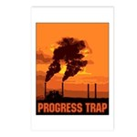 Industrial Progress Trap Postcards (Package of 8)
