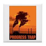 Industrial Progress Trap Tile Coaster