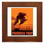 Industrial Progress Trap Framed Tile